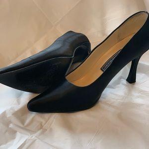 Jennifer Moore Satin 4-inch heels